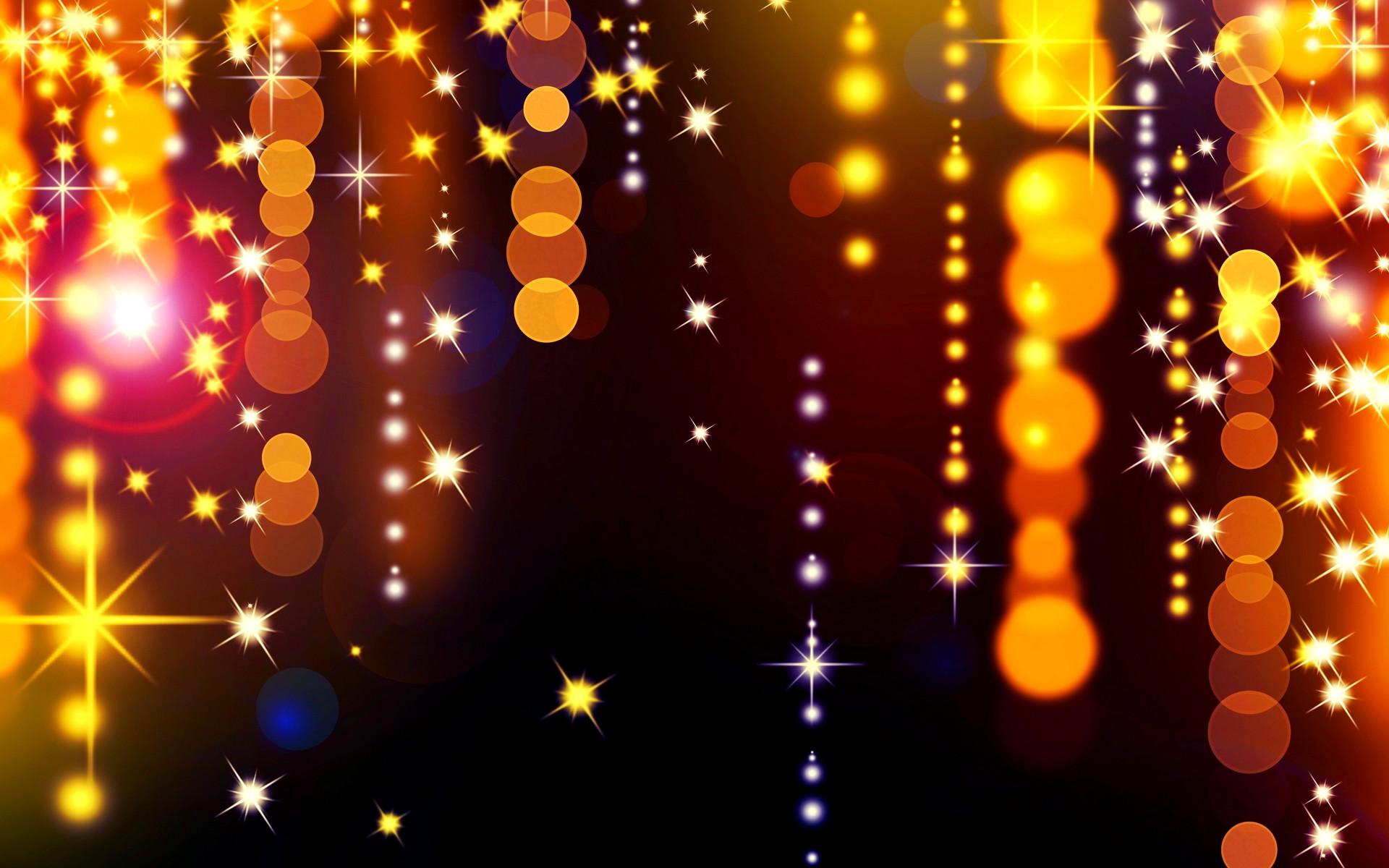 Christmas Lights Desktop Background Page 1