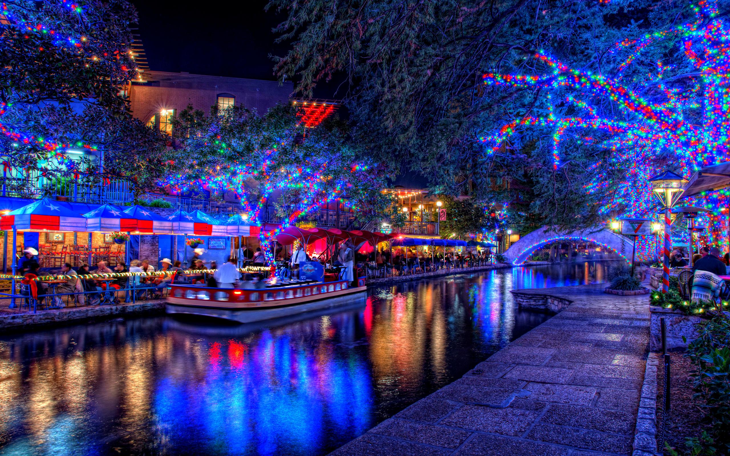 christmas lights pictures | Christmas Lights Wallpaper HD
