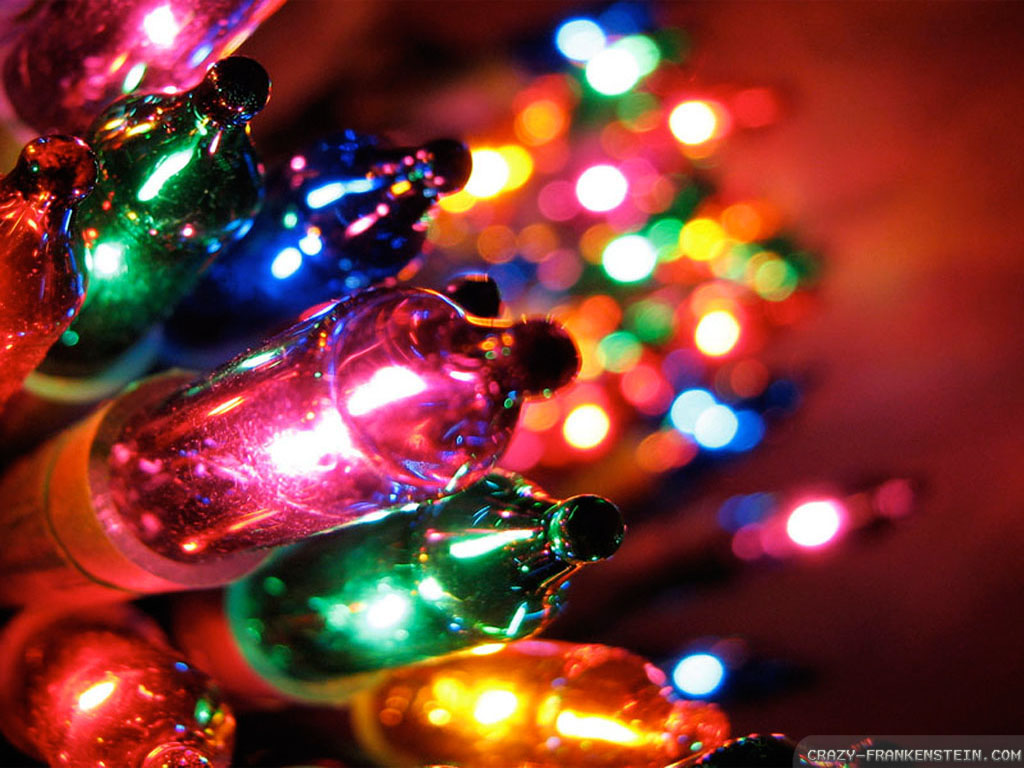 Collection of Christmas Lights Desktop Background on HDWallpapers