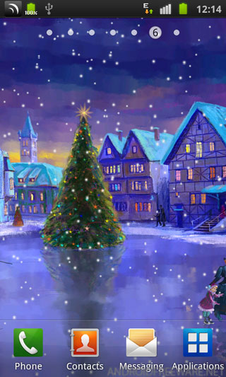 Collection of Christmas Live Wallpaper Android on HDWallpapers