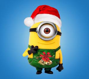 download free minions christmas wallpapers for your mobile phone src - Minion Merry Christmas