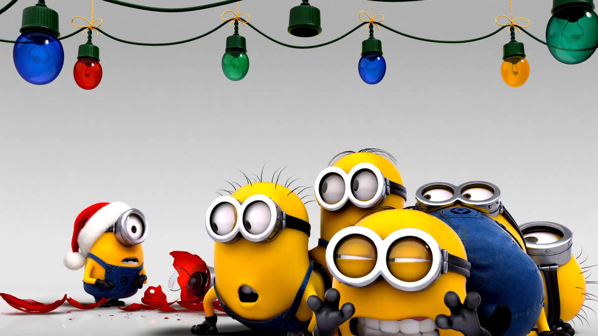 Android Minion Christmas Wallpaper