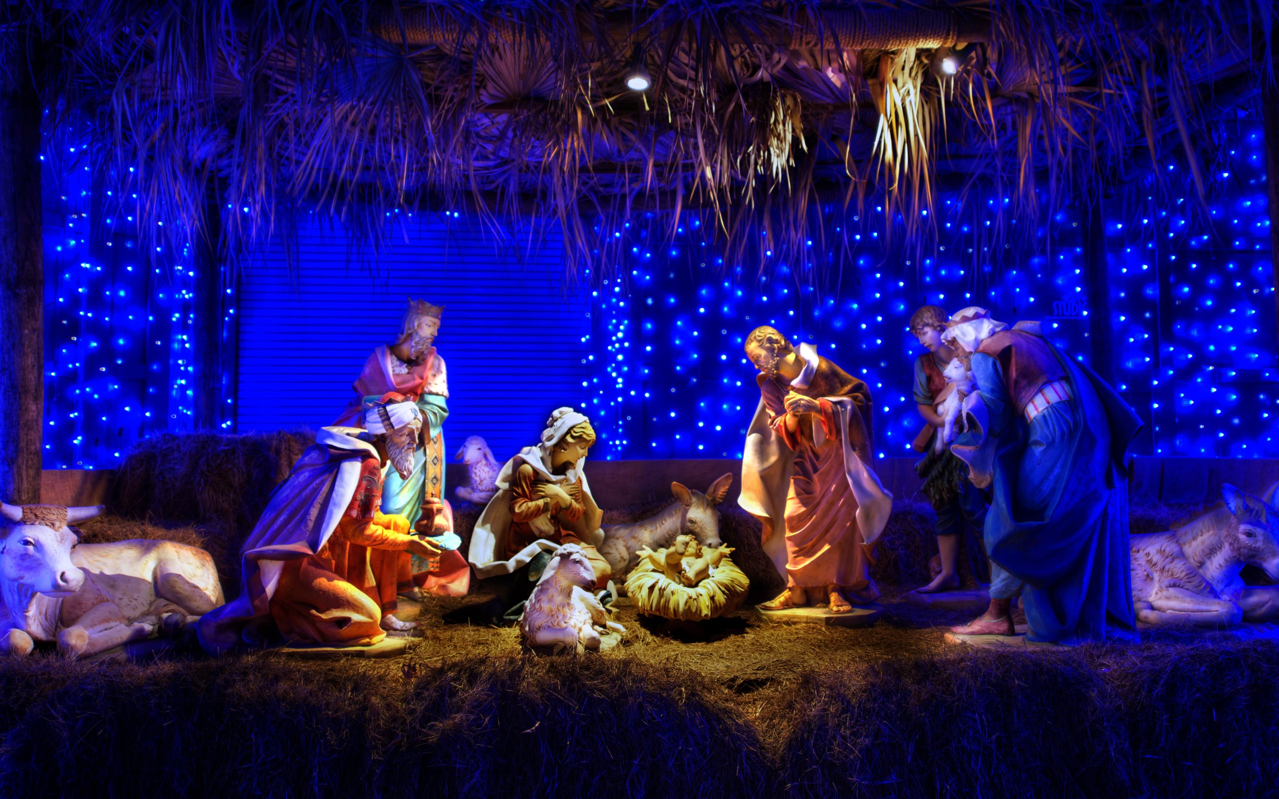 Christmas Nativity Scene Wallpapers | Free Computer Desktop Wallpapers