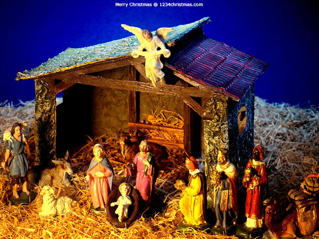 Free Christmas Nativity Wallpapers - Wallpaper Cave
