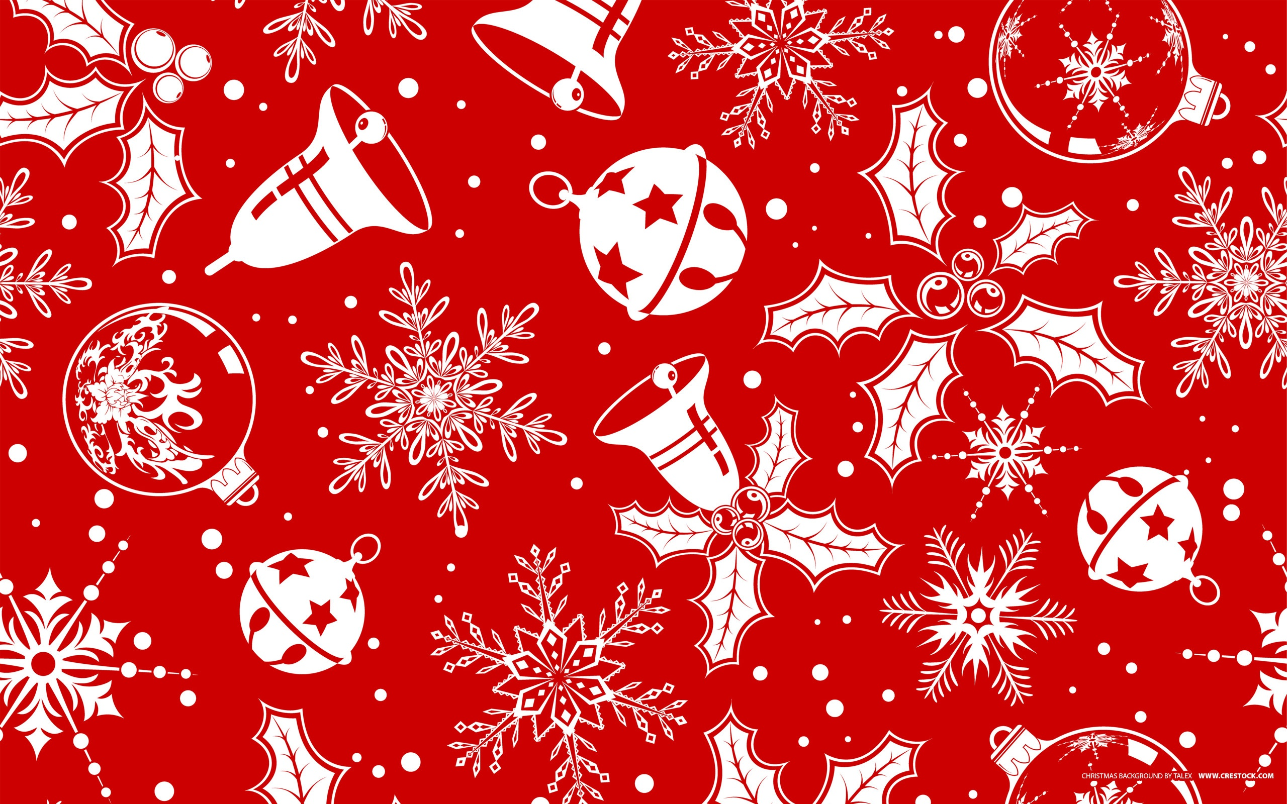 Red Christmas Paper Wallpaper by HD Wallpapers Daily