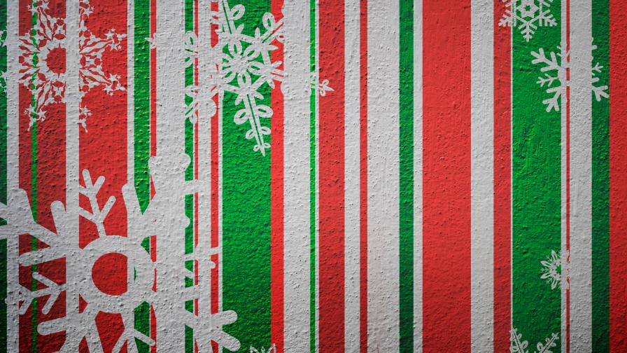 Christmas Paper Hangings Background - Wallpaper - Free Christmas
