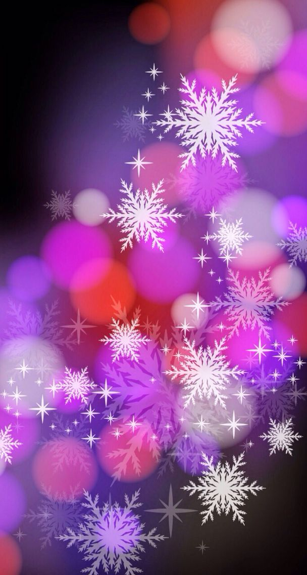 Pink And Purple Christmas Backgrounds