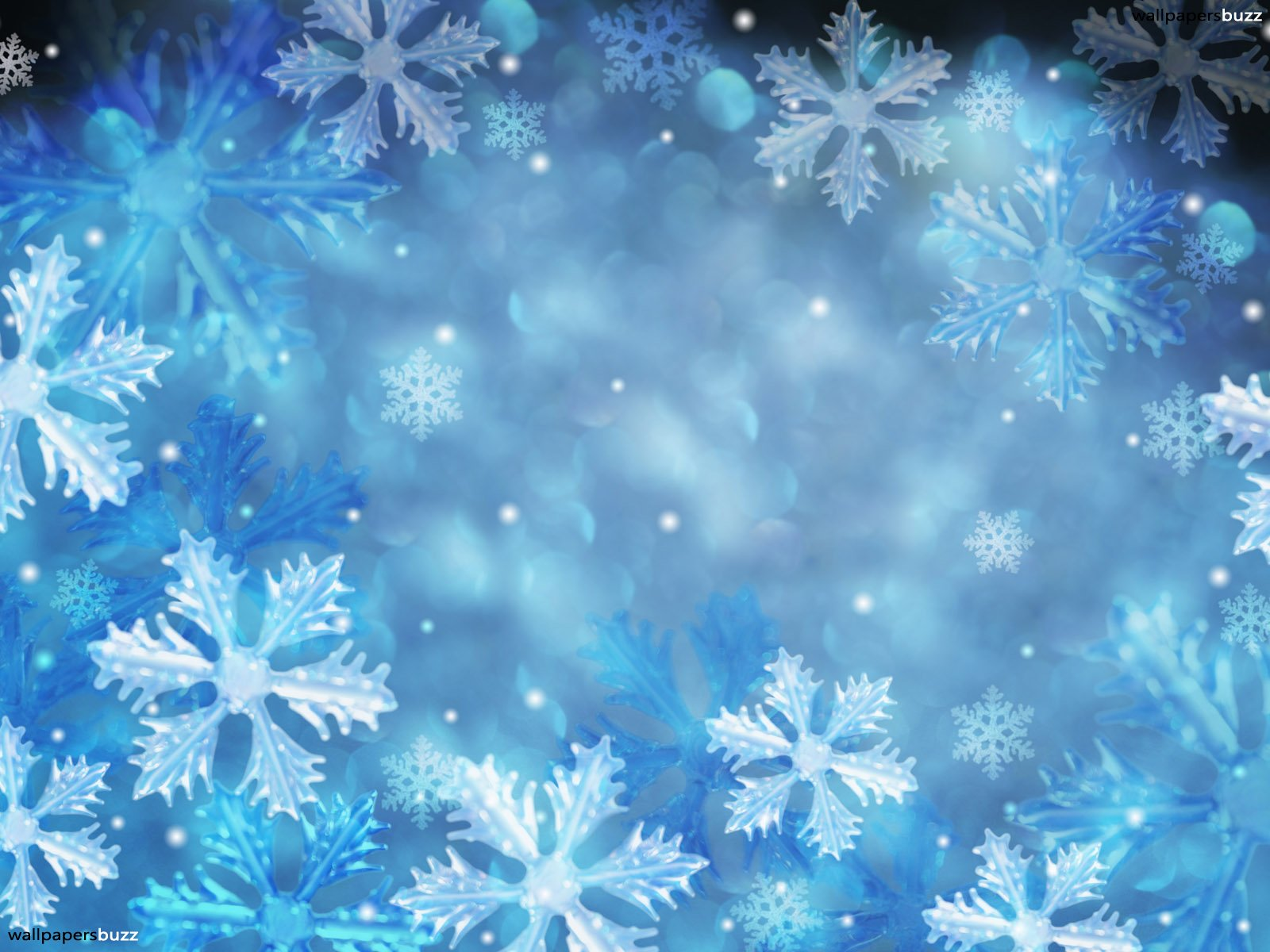 Snowflake Desktop Backgrounds Group (71+)
