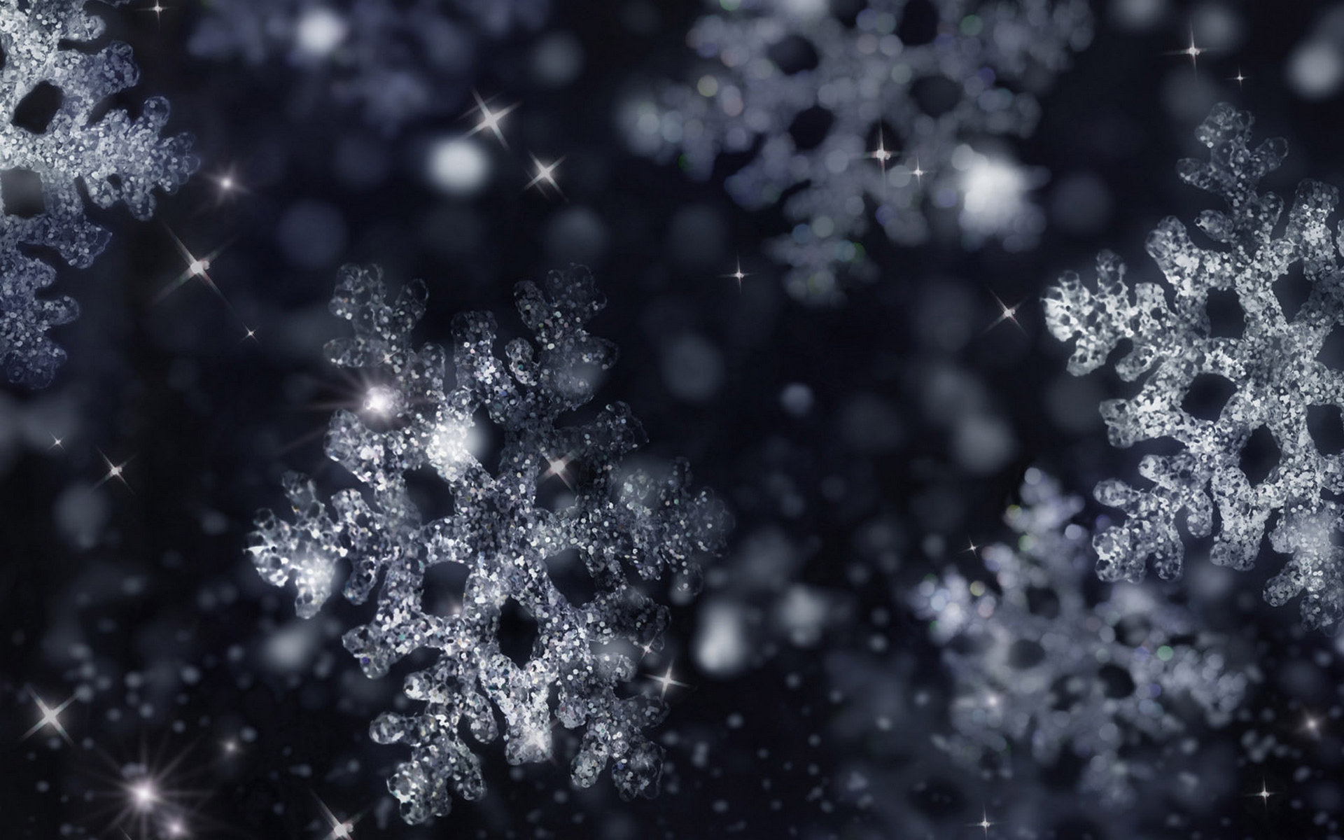 40 Colorful SnowFlake theme Christmas HD wallpapers | Web Design Burn