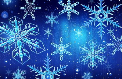 Collection of Christmas Snowflakes Wallpaper on HDWallpapers