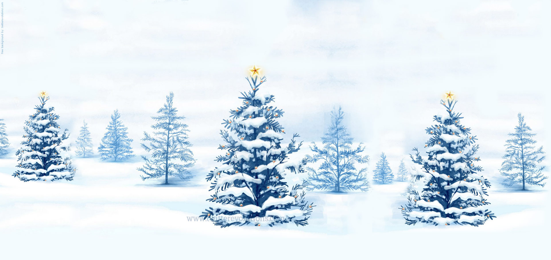 Christmas Snowy Background Sf Wallpaper