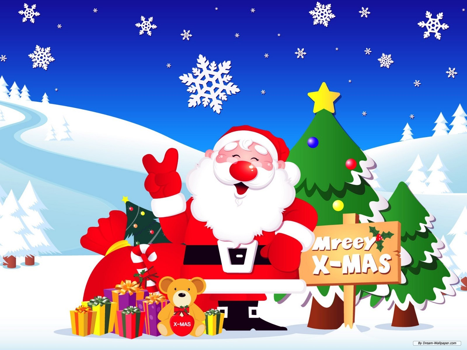 Christmas Desktop Free Theme Wallpaper - WallpaperSafari