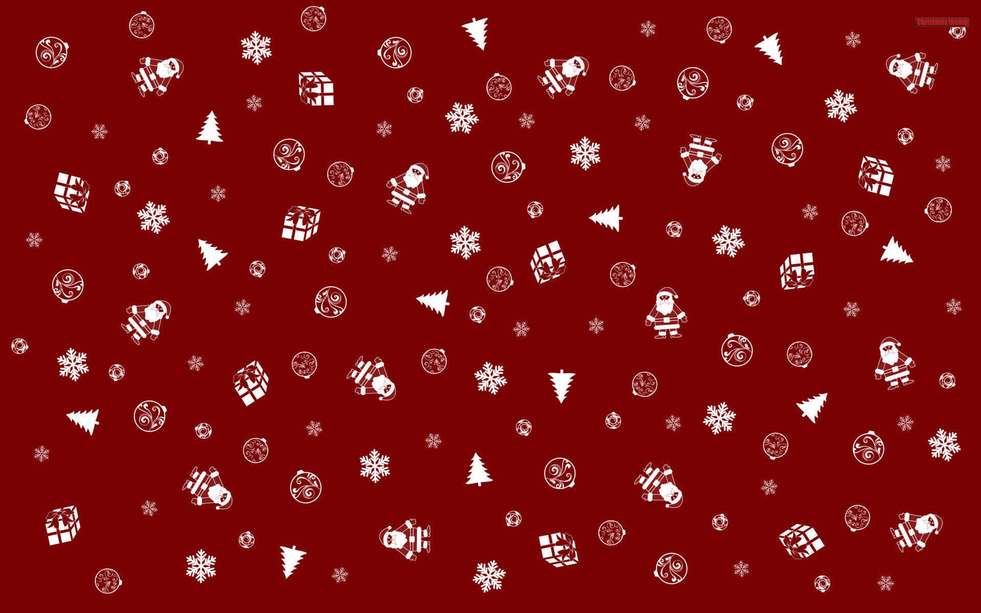 Christmas theme symbols wallpaper : HD wallpaper, Background wallpaper