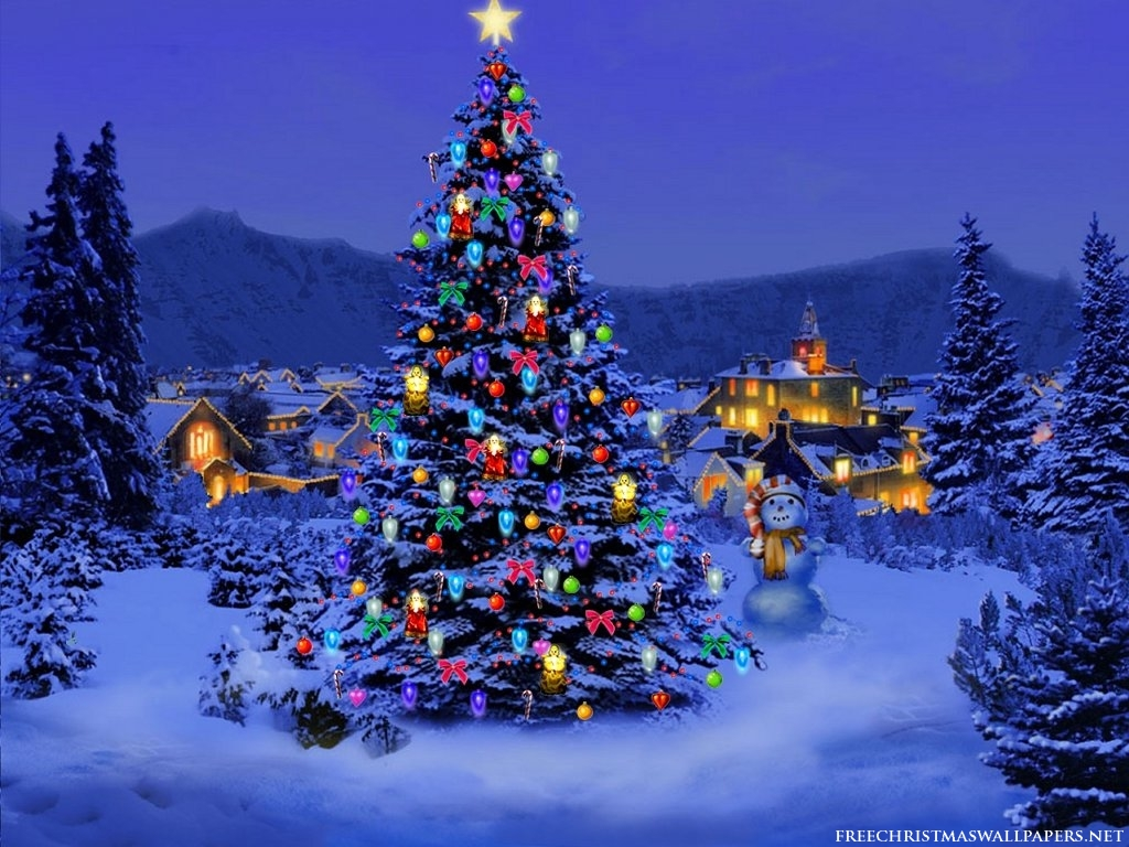Christmas Tree Desktop Backgrounds, 40 Christmas Tree Gallery of