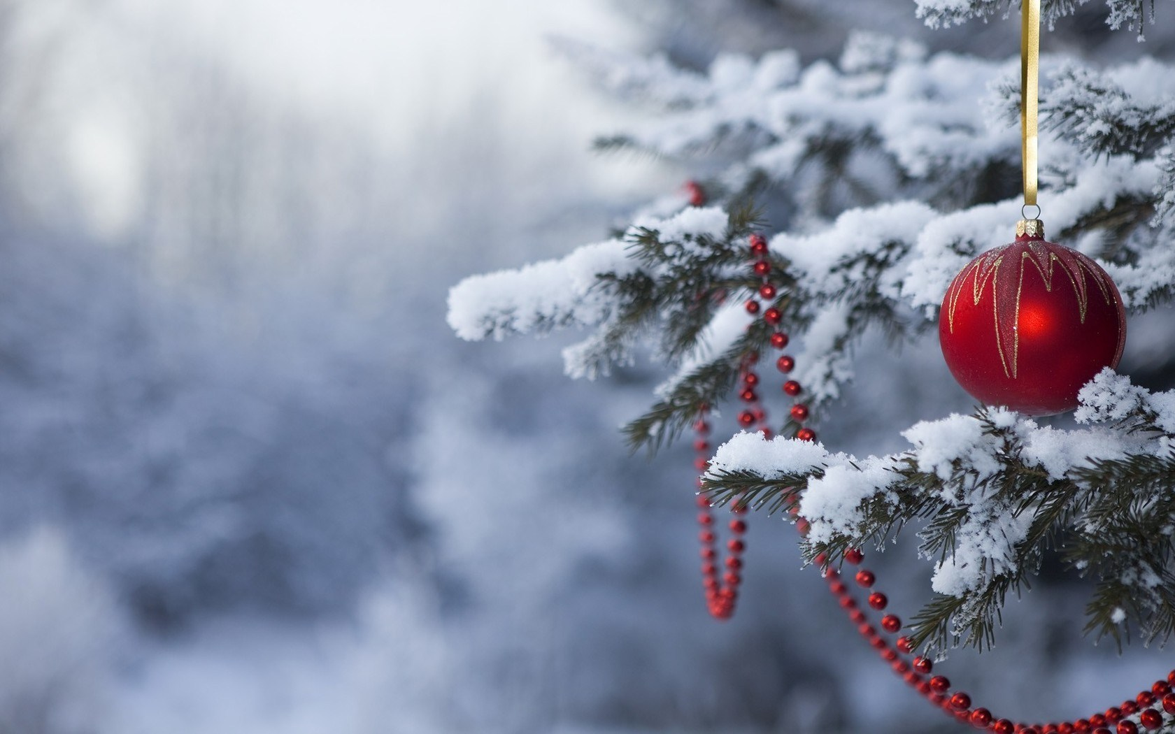 Collection of Christmas Tree Snow Wallpaper on HDWallpapers