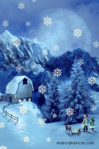 7 Best Christmas Live Wallpapers for Android - Lighten up your