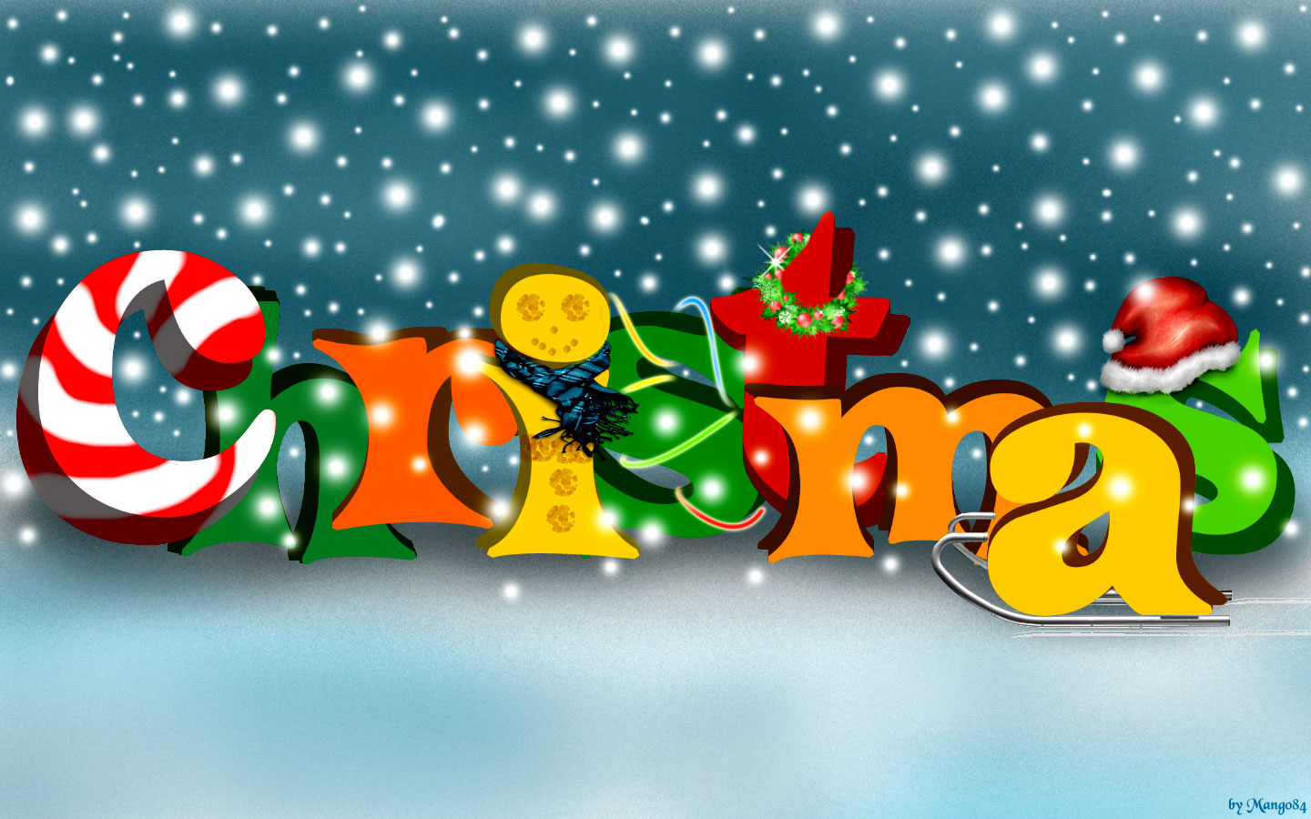 Christmas Wallpaper Free Widescreen - Cool Wallpapers