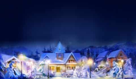 Christmas Wallpapers Free Widescreen - WallpaperPulse