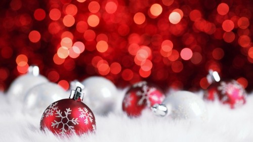 Widescreen Christmas Backgrounds for Desktop Beaming 2011