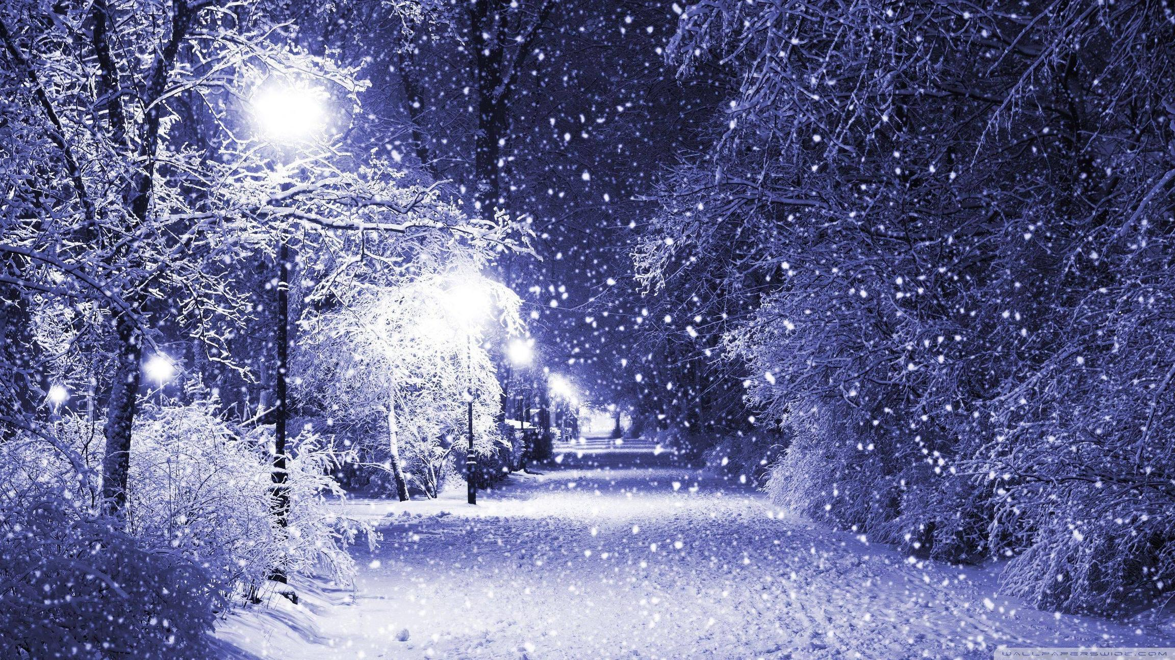 Christmas Winter Background Page 1