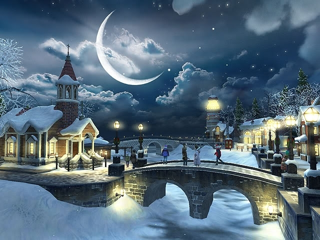 Good Christmas Winter Scenes Wallpaper Free Awesome Christmas