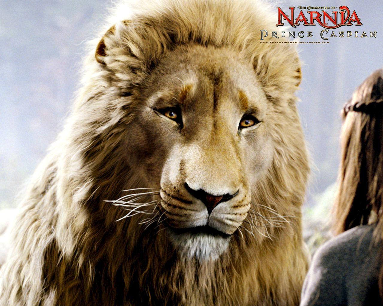 Aslan And Prince Caspian From Chronicles Of Narnia Desktop Wallpaper