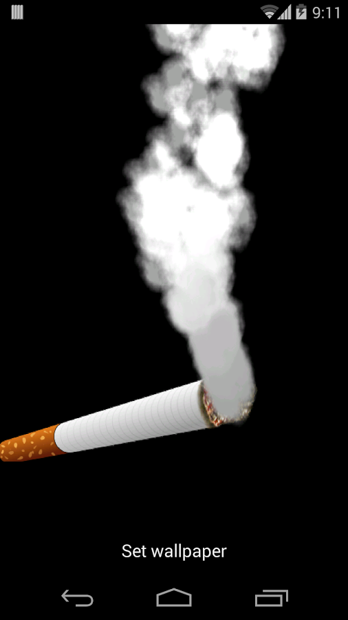Cigarette Smoke Wallpaper