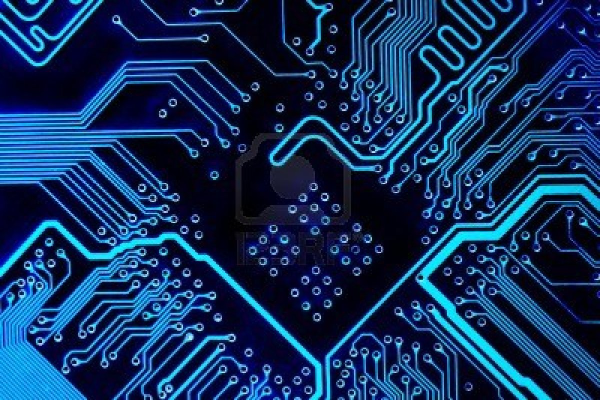 Circuit board background - SF Wallpaper