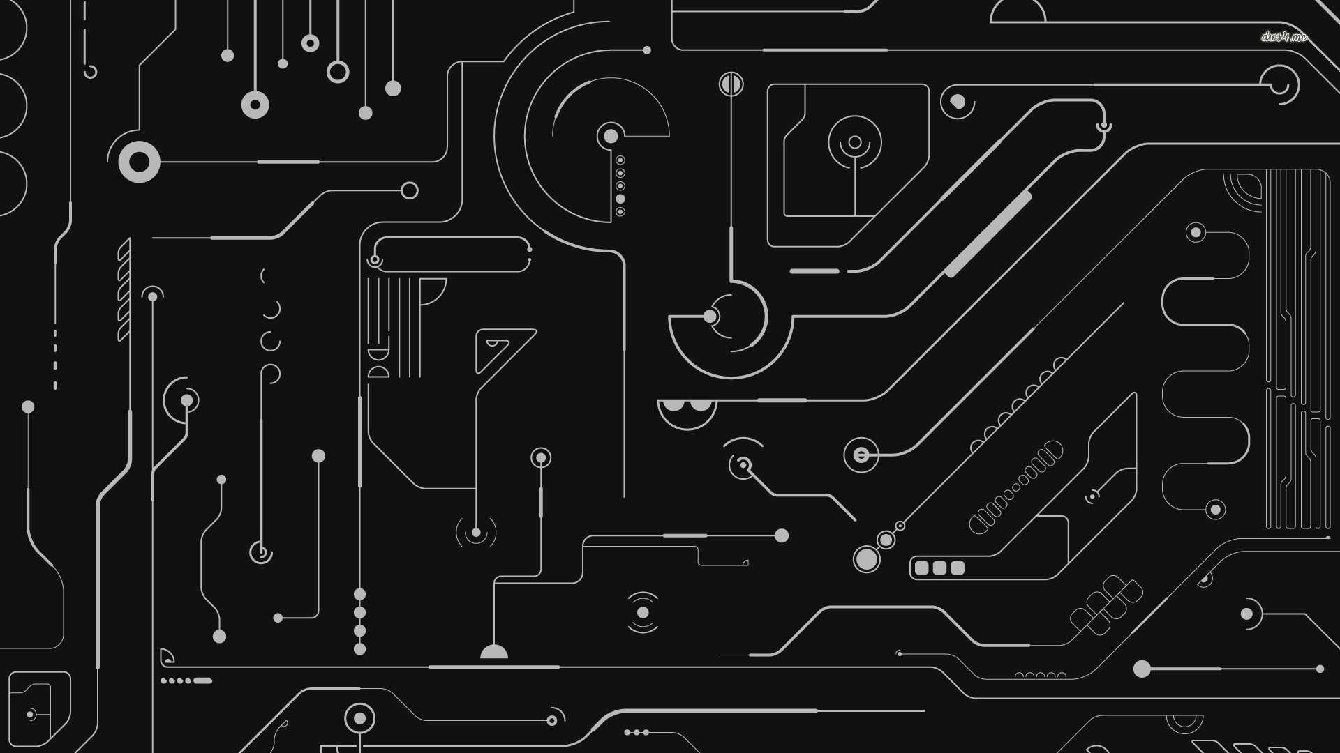 circuit board wallpaper HD