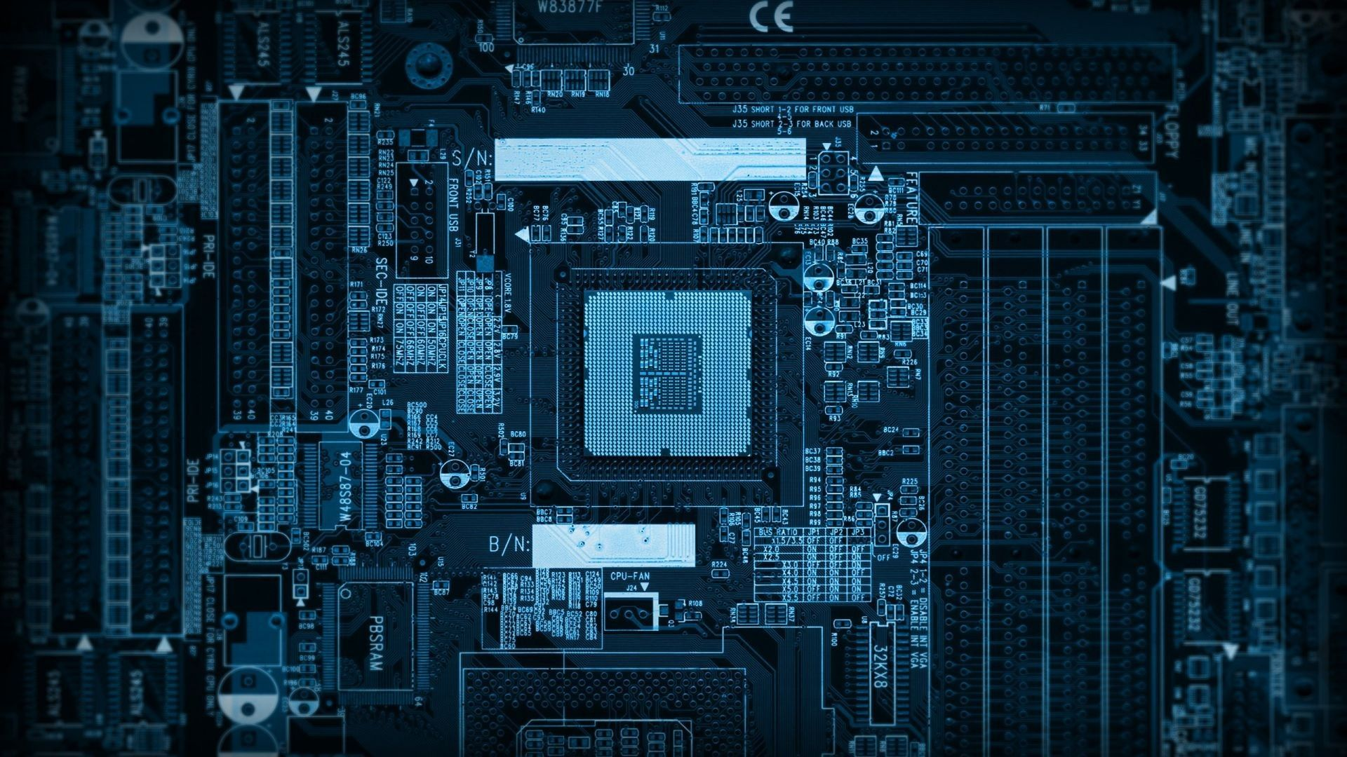 Circuit Board Wallpapers - Wallpaper Cave