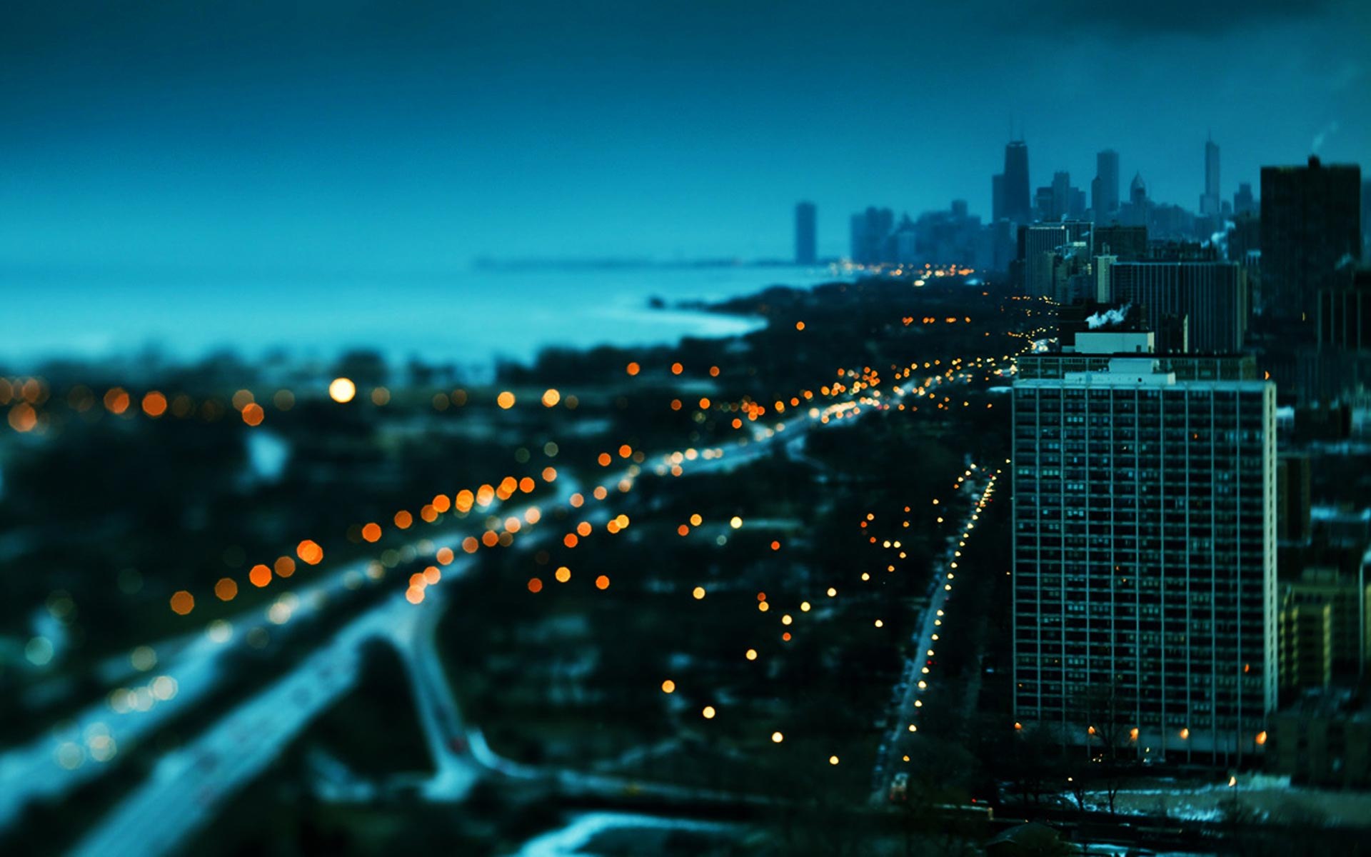 City In Night Wallpaper Sf Wallpaper