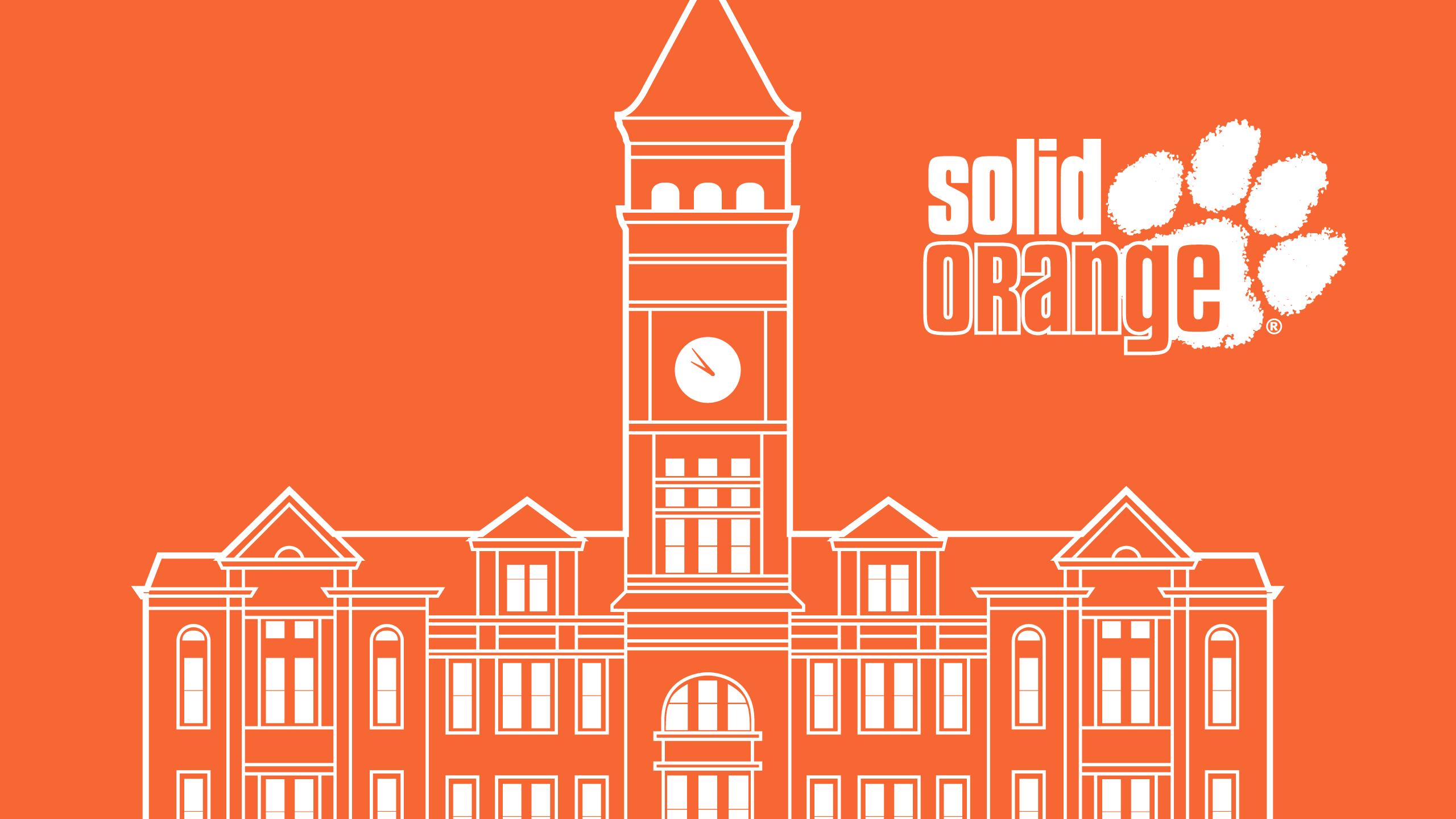 Clemson University | Solid Orange
