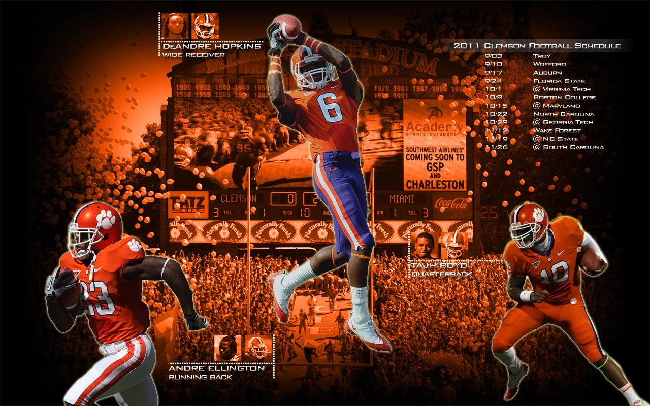 Clemson Football Wallpapers HD - WallpaperSafari