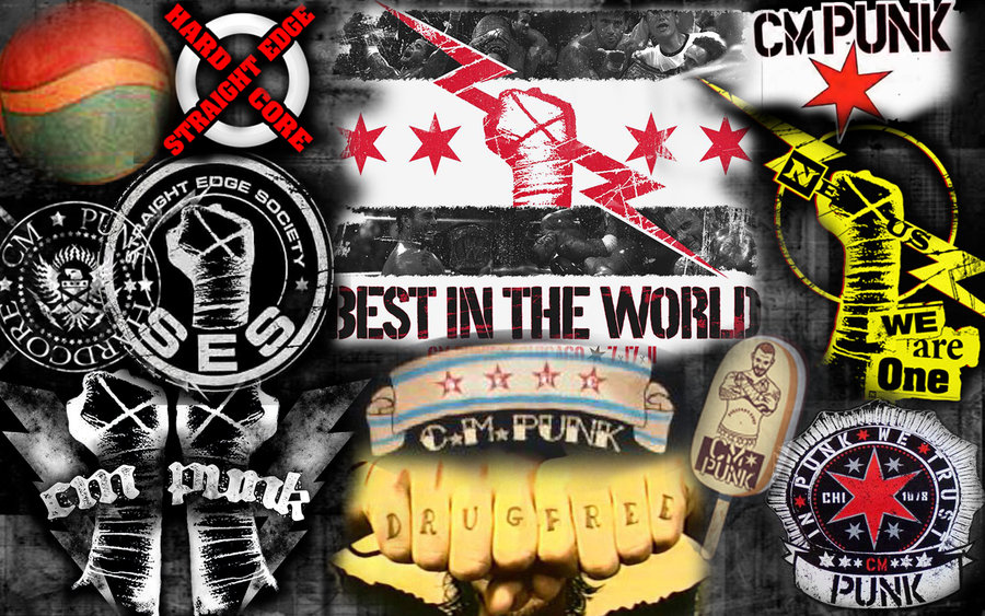 CM Punk Logo - WWE Superstars, WWE Wallpapers, WWE PPV's
