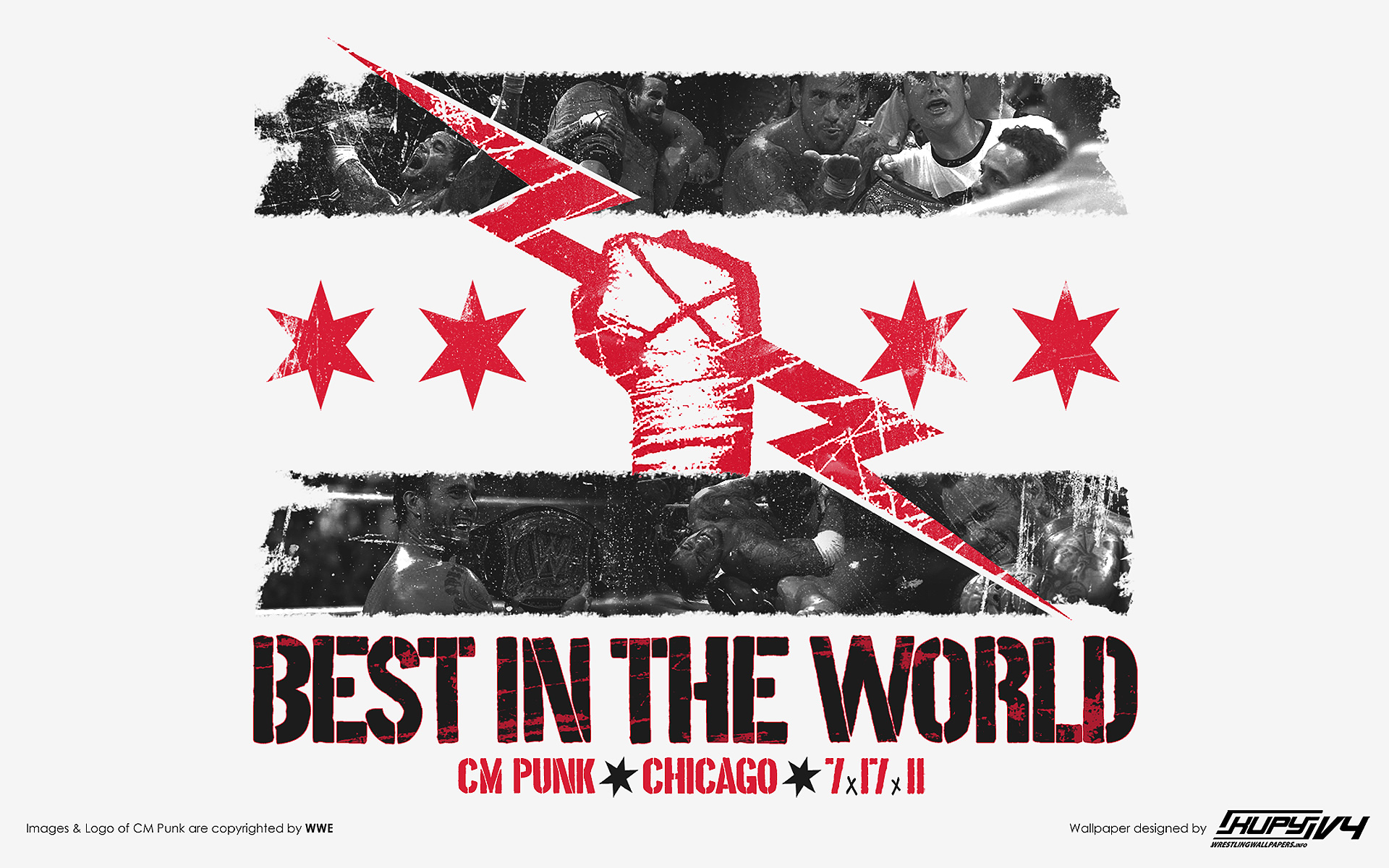 Cm Punk Logo Wallpaper - WallpaperSafari