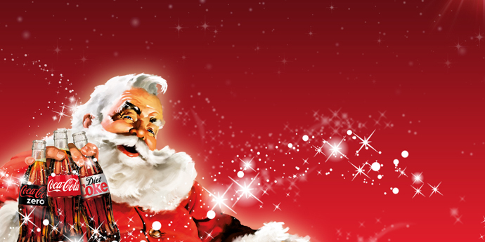 Santa Claus Coca Cola Wallpapers Happy Holidays