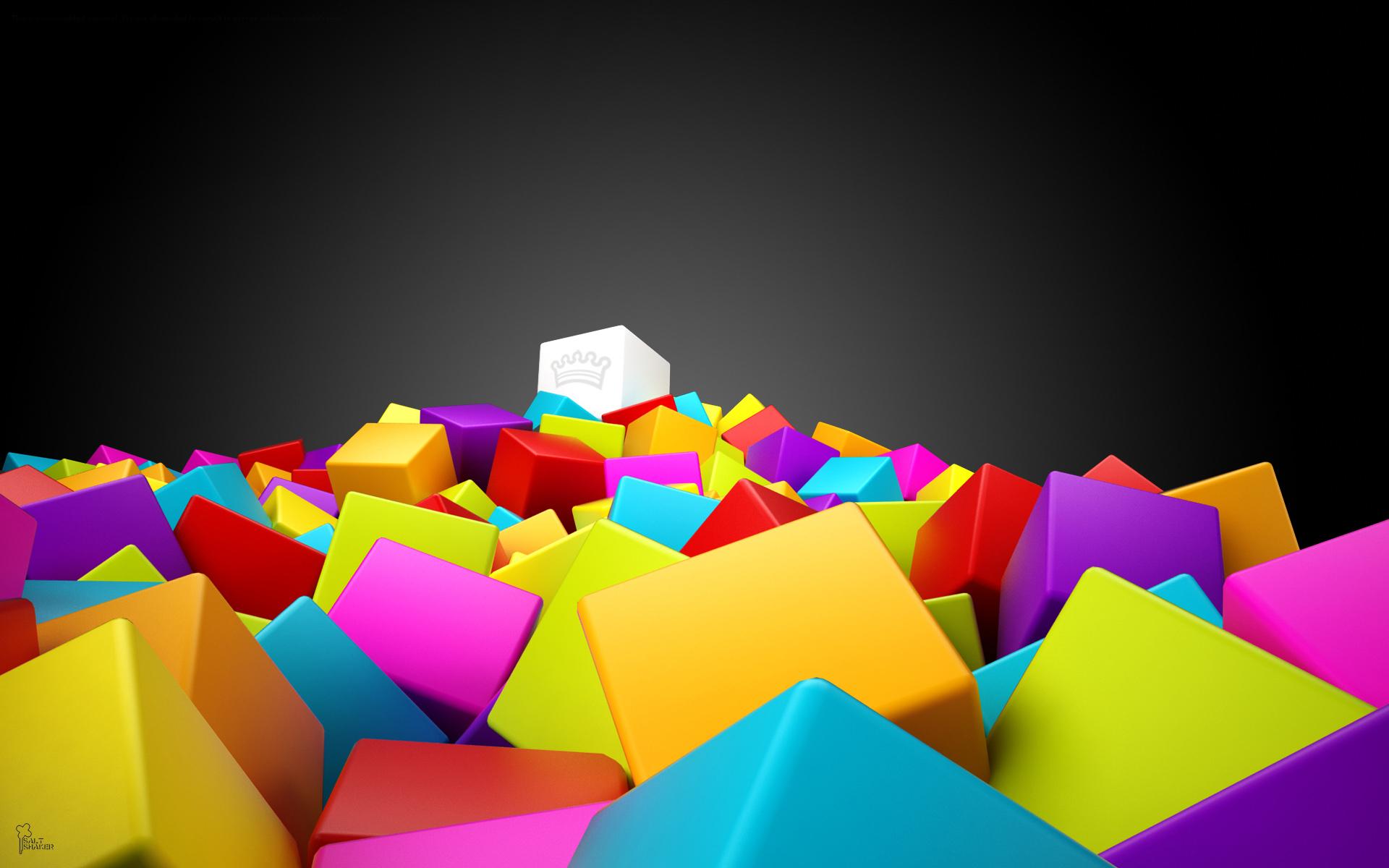 Colorful 3d Wallpapers - WallpaperSafari