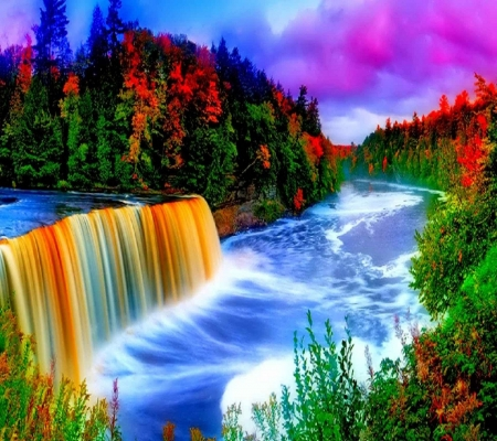 Colorful Nature - Forces of Nature & Nature Background Wallpapers