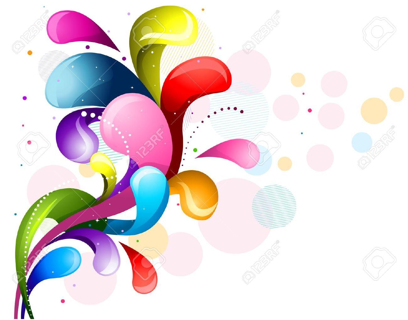 Backgrounds Hd Tie Dye Colorful Vortex Swirls Wallpaper: Colorful Swirls Backgrounds