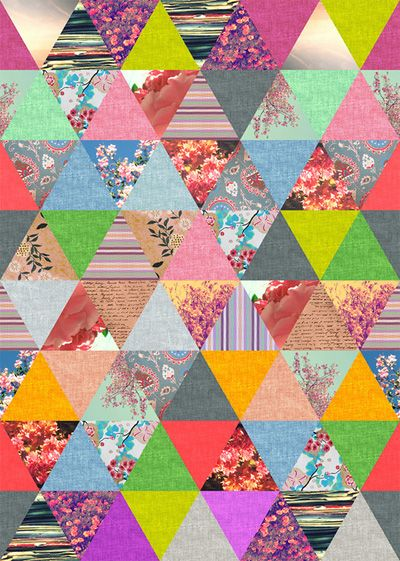 hipster floral triangles Hipster Twitter Backgrounds Tumblr