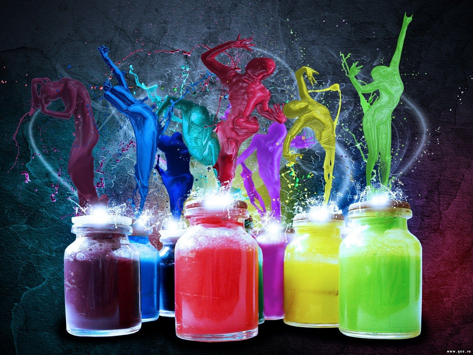 1000+ images about Colorful wallpaper on Pinterest | Neon