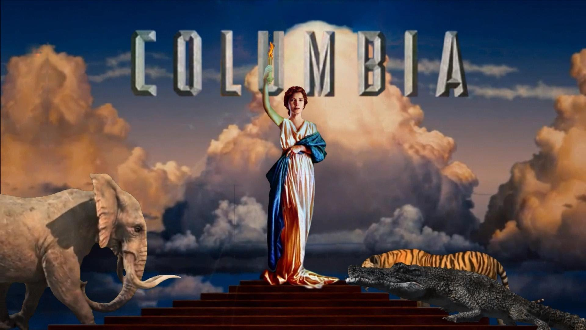 Columbia Pictures Intro - The Torch Lady QUITS !!! - HD - YouTube