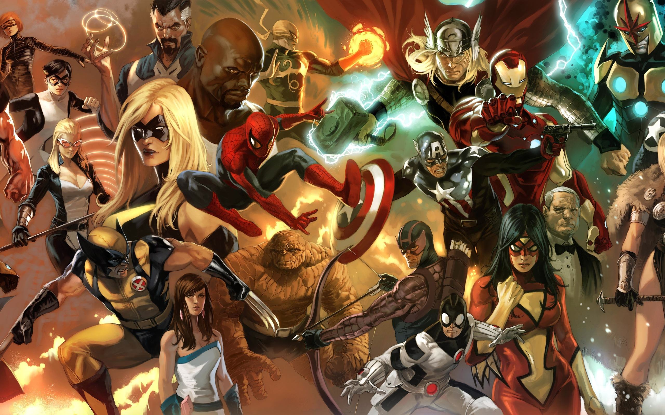 30 Cool Comic Book Wallpapers in High Quality, Elizabeth Bussel