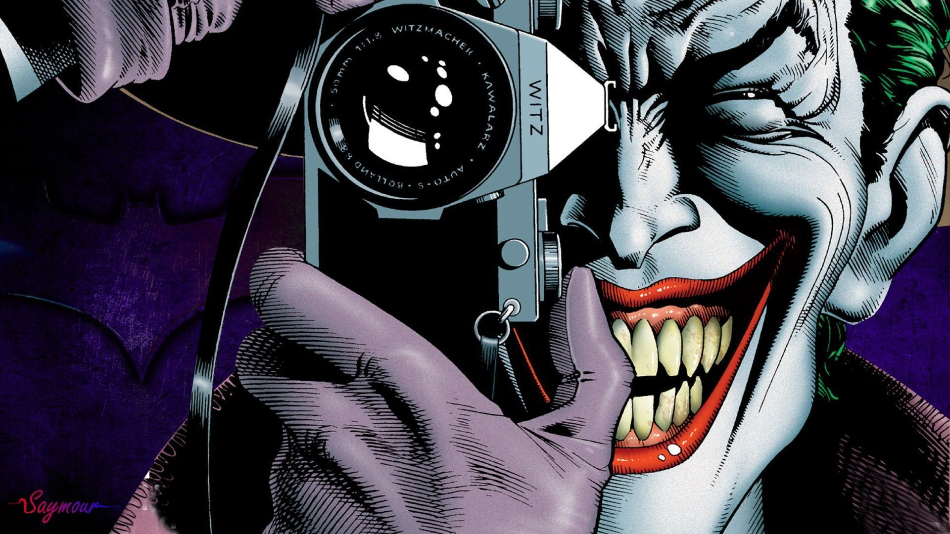 comic joker wallpaper #17