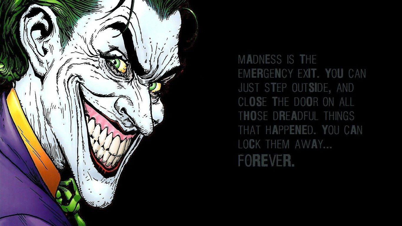 Joker Comic Wallpapers | WallpapersIn4k net