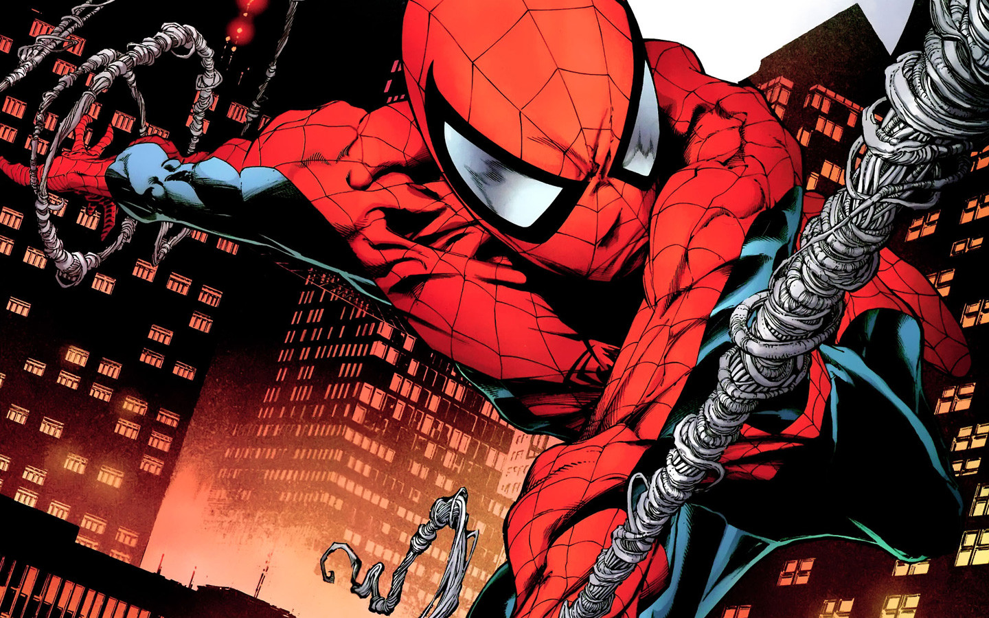 Collection of Comic Spiderman Wallpaper on HDWallpapers