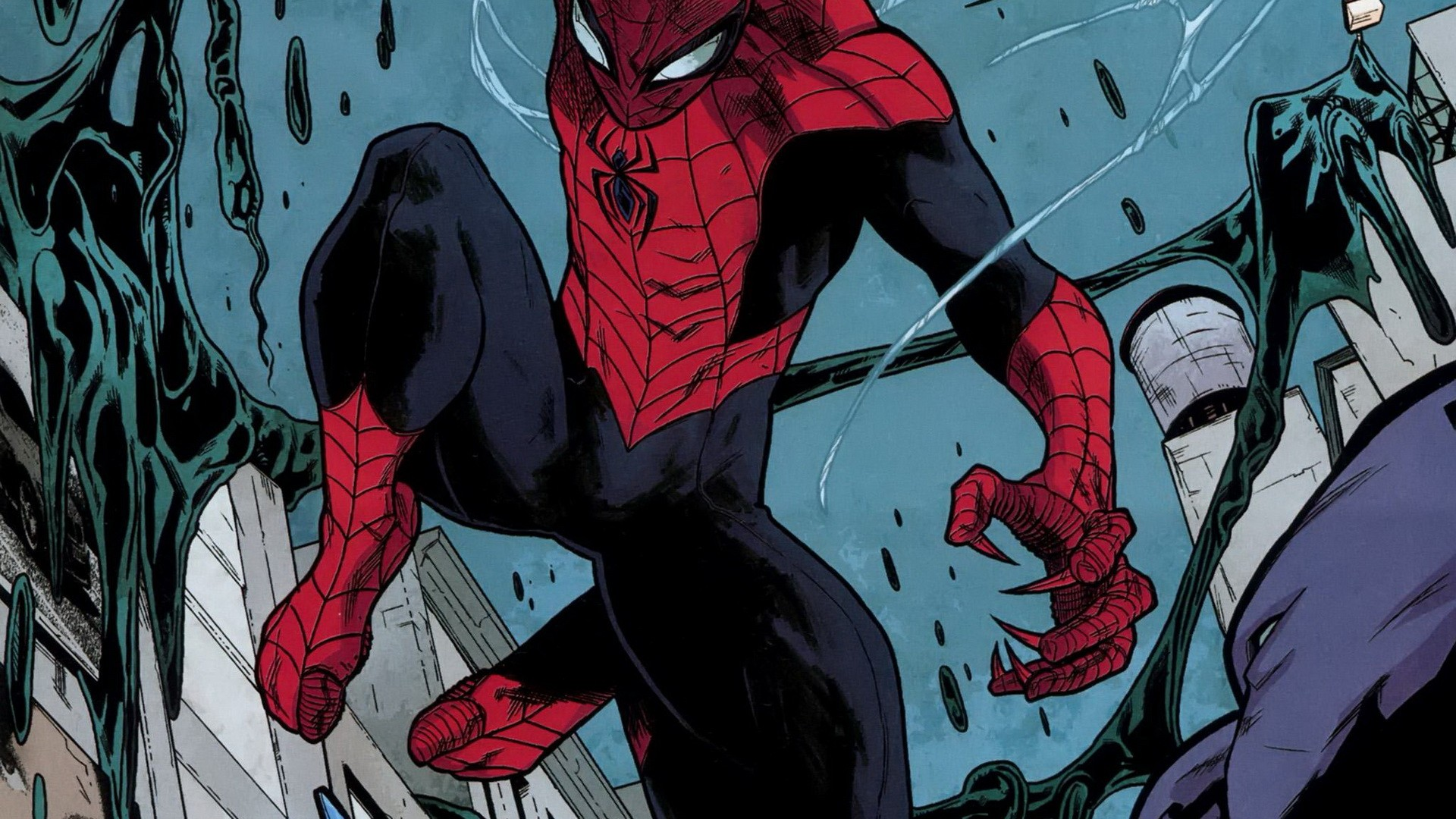 comic spiderman wallpaper #6