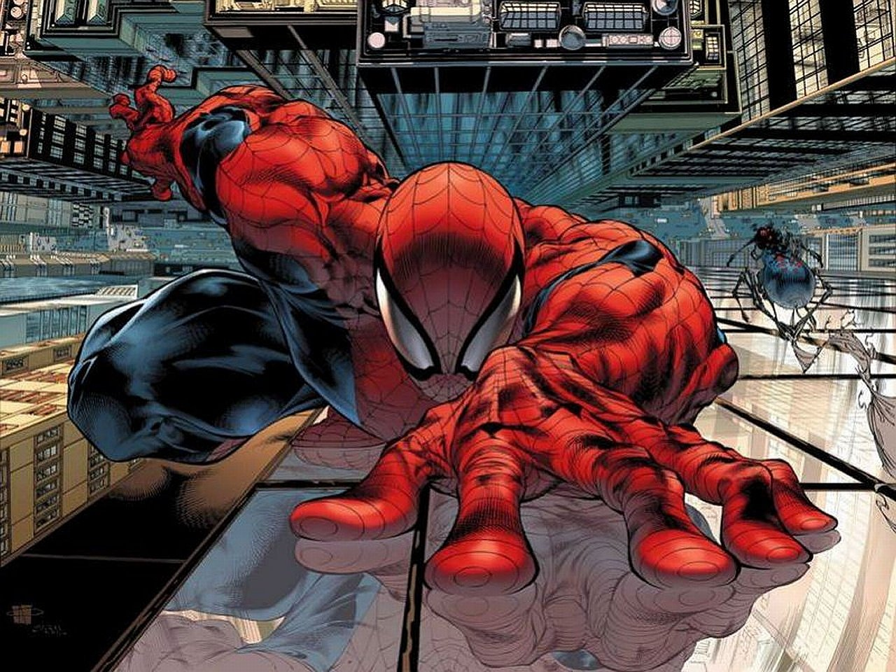 comic spiderman wallpaper #3