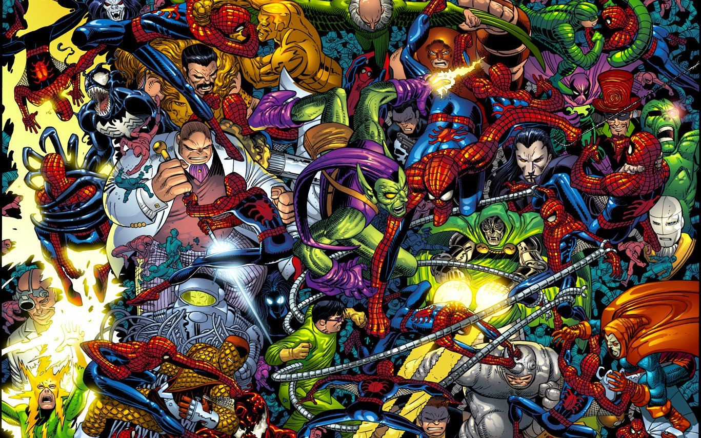 Spider-Man Comic Wallpaper - WallpaperSafari