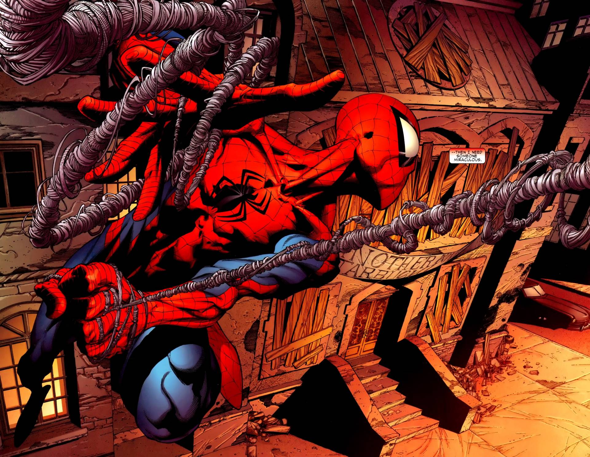 comic spiderman wallpaper #13